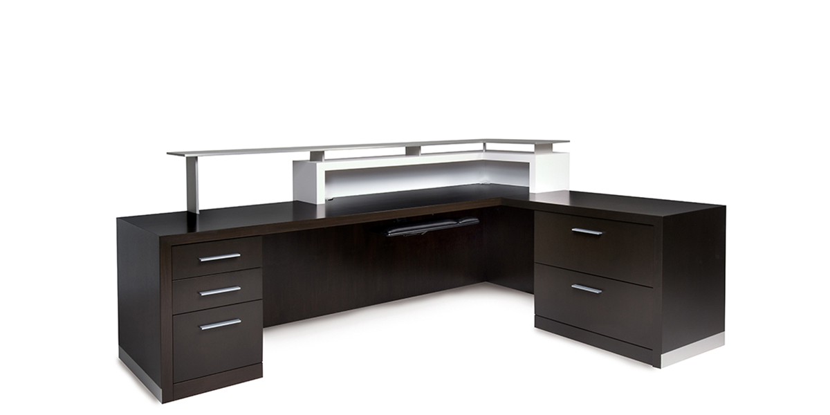 Kubist Reception Desk