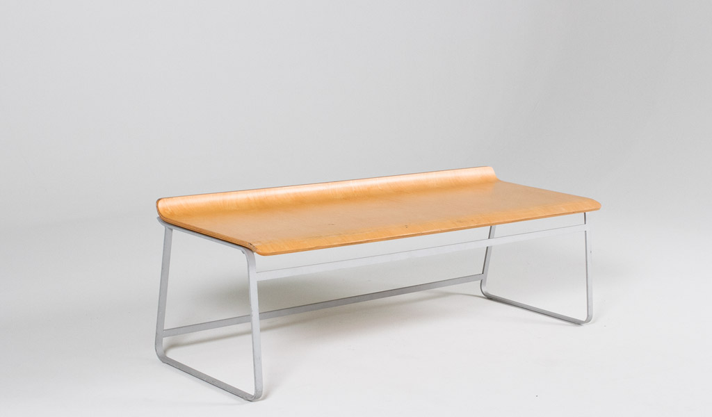 """47""""w x 18""""d Molded Plywood Bench BEN006095"""