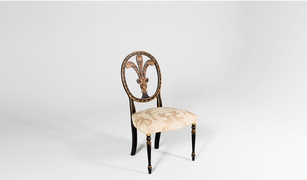 Fleur de Lis Side Chair CHR000576