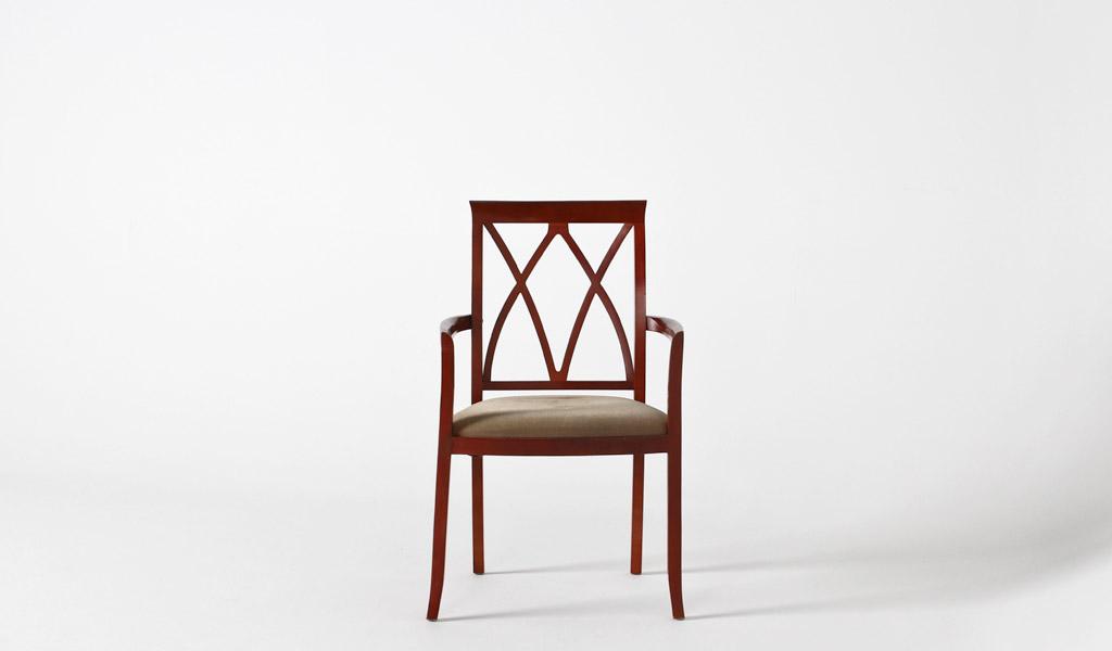 Green Mohair Guest Chair CHR000861