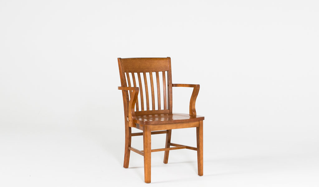 Medium Oak Courtroom Chair CHR003594