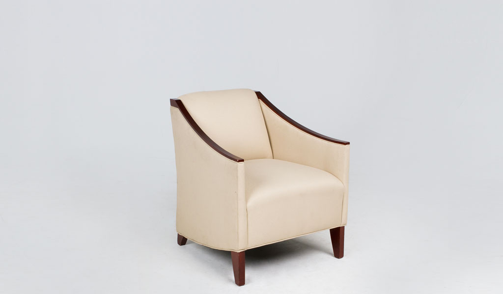 Light Beige Club Chair CHR008600