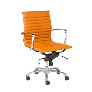 Terracotta Eames Mid-Back Office Chair CHR009209