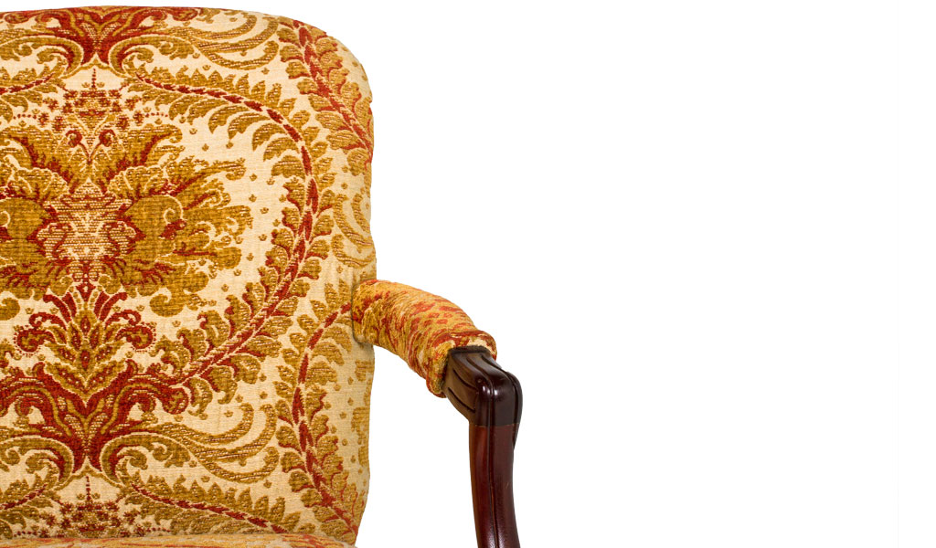 Mahogany French Guest Chair CHR009272