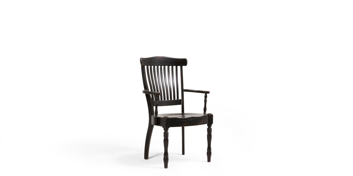 Black Dining Guest Chair CHR009292