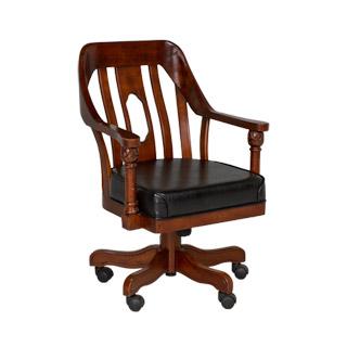 Dark Cherry Mid-Back Office Chair CHR010039