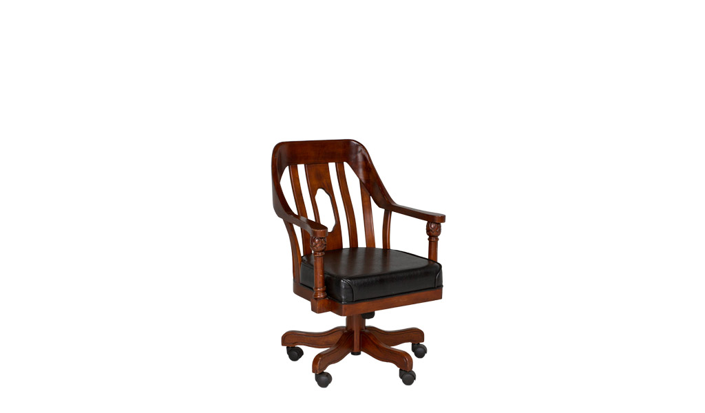 Dark Cherry Mid-Back Office Chair CHR010039