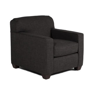 Charcoal Club Chair CHR012553