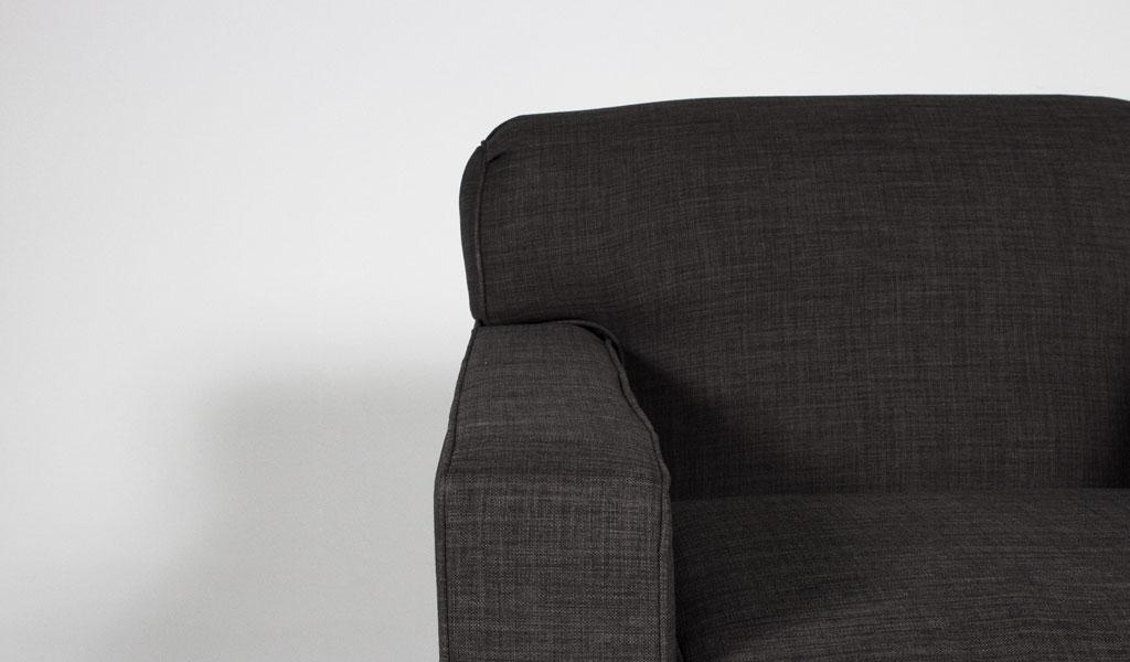 Charcoal Club Chair CHR012553