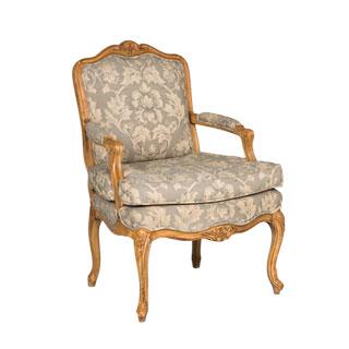 Honey Pine Armed Club Chair CHR012646