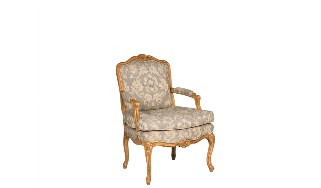 Honey Pine Armed Club Chair CHR012646