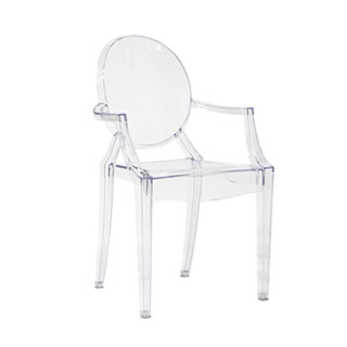 Louis Ghost Arm Chair CHR012927
