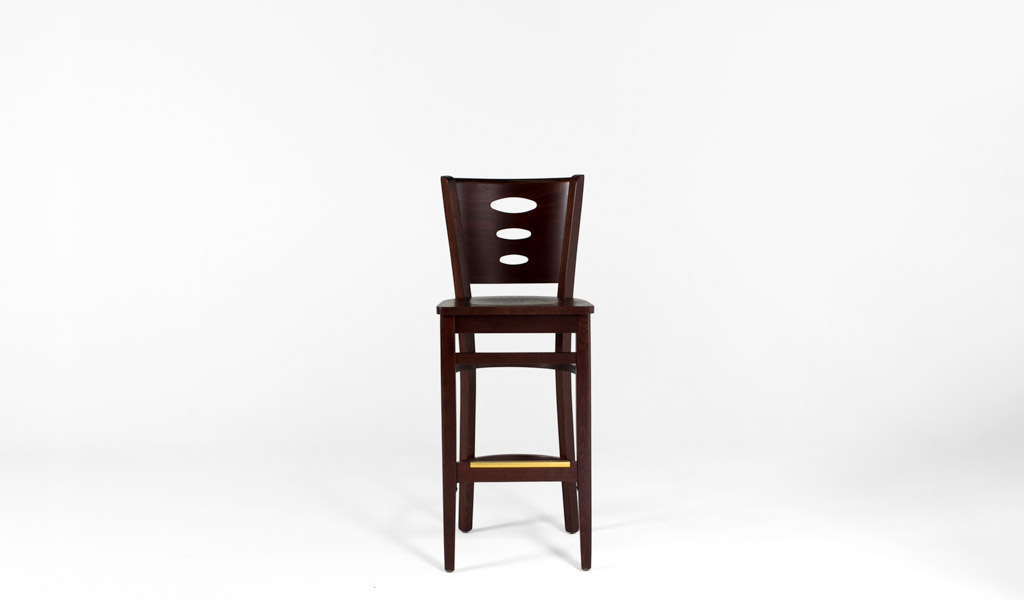 Walnut Café Height Stool CHR012999