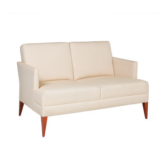 "51""w x 32""d Beige Fabric Loveseat LVS009817"