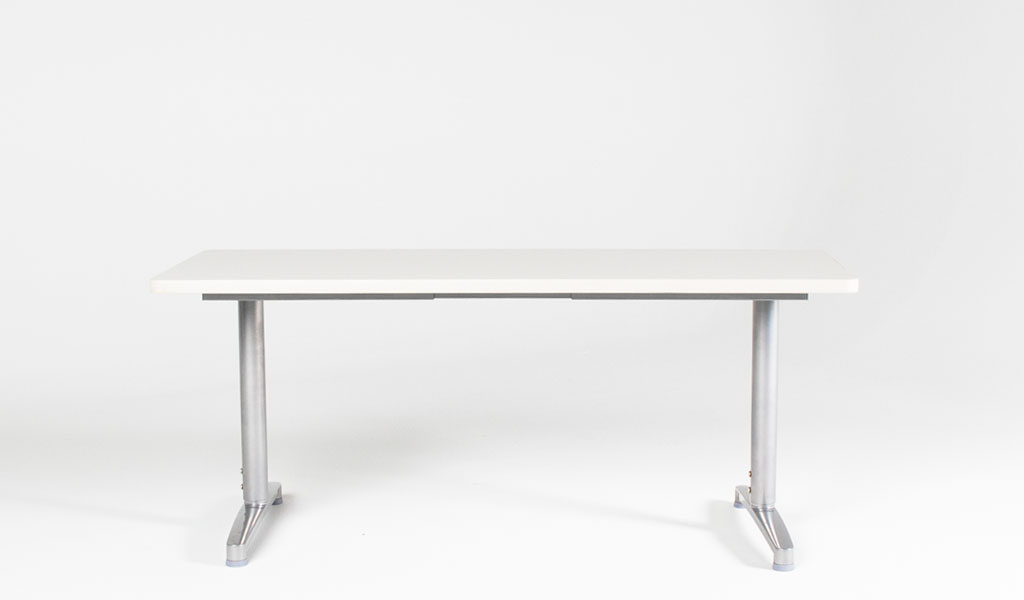 "60""w x 24""d Grey Training Table TBL012993"