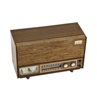 """8""""h Brown Radio ACC001360"""