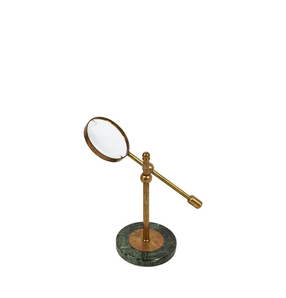 "13""h Brass Magnifying Glass ACC001433"