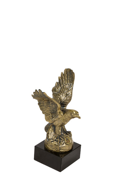 "10""h Brass Statue ACC011496"