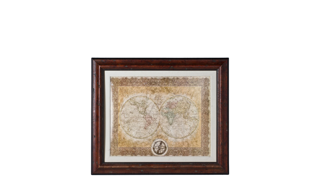 "40.5""w x 34.5""h Map Art ART009473"