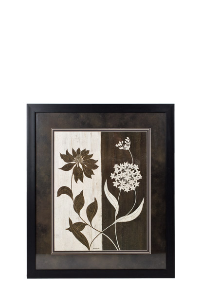 "33.5""w x 39.5""h Floral Art ART011526"
