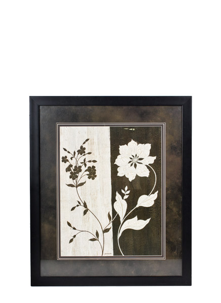 "33.5""w x 39.5""h Floral Art ART011527"