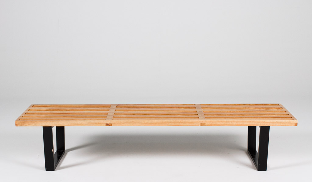 "72""w x 18""d Natural Wood Nelson Bench BEN012185"