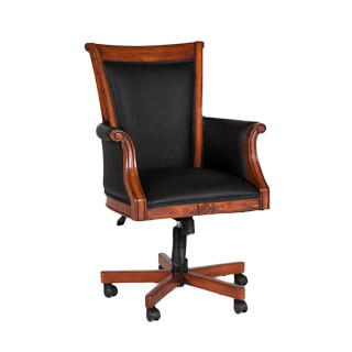 West Indies Cherry Hi-Back Executive Chair CHR008830