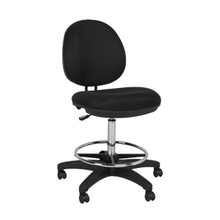 Black Drafting Chair CHR009460