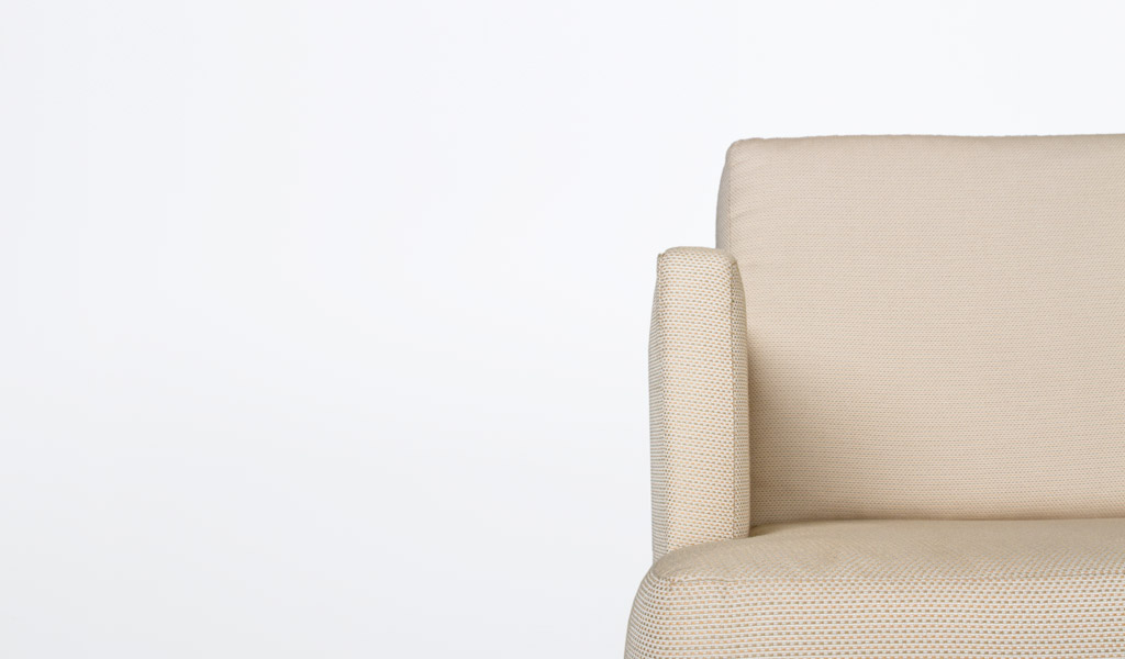 Beige Fabric Club Chair CHR009816