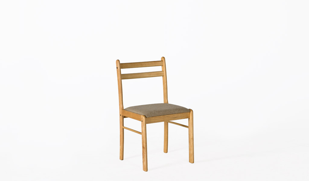 Natural Wood Side Chair CHR009965