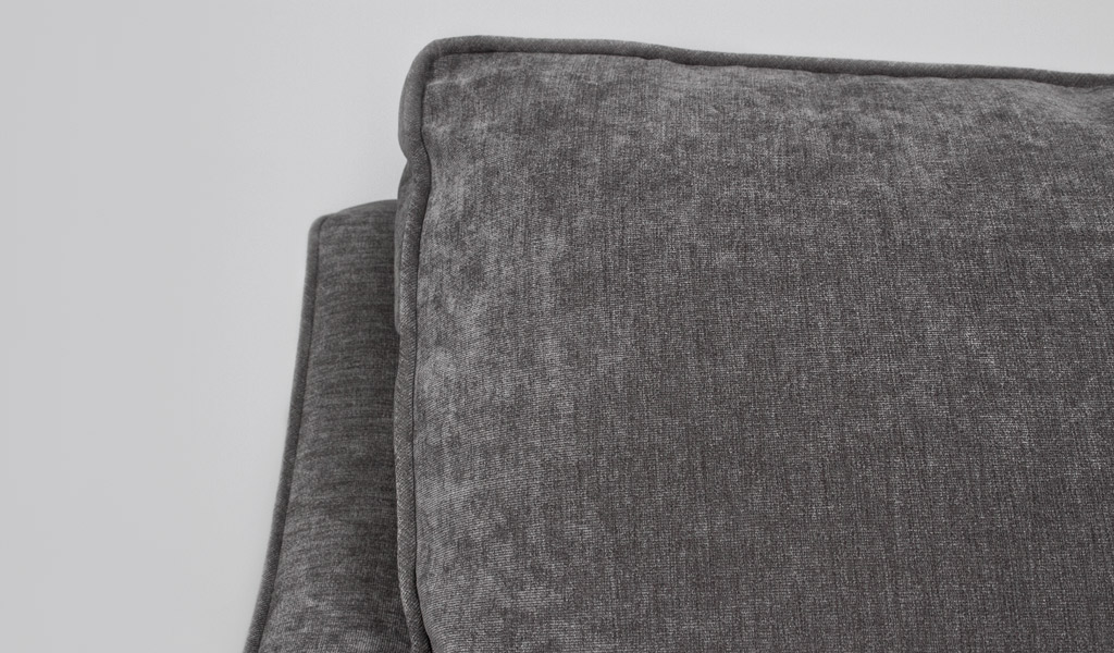 Grey Velvet Upholstered Club Chair CHR012203