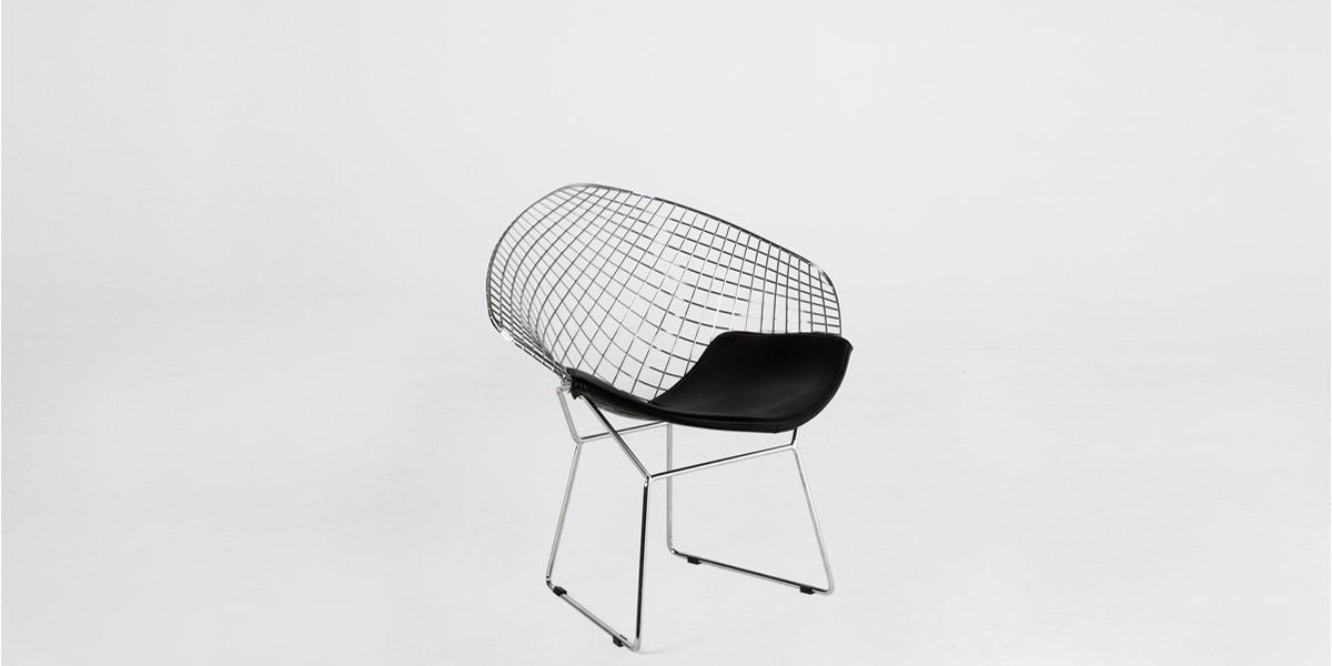 Chrome Bertoia Lounge Chair CHR012642