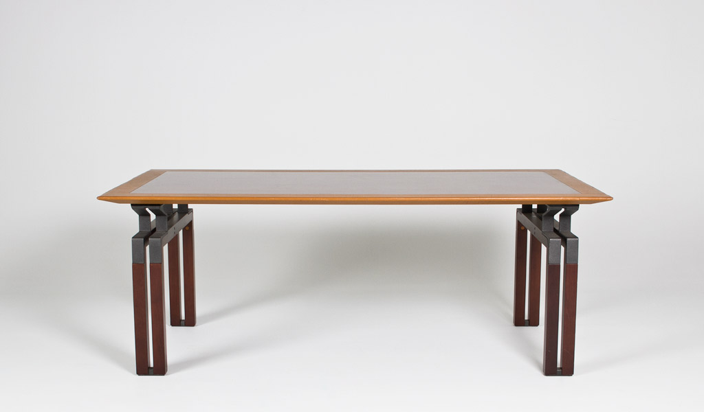 "79""w x 39""d Walnut Conference Table DSK008915"
