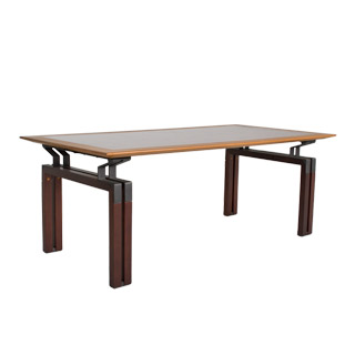 79''w x 39''d Walnut Conference Table DSK008915