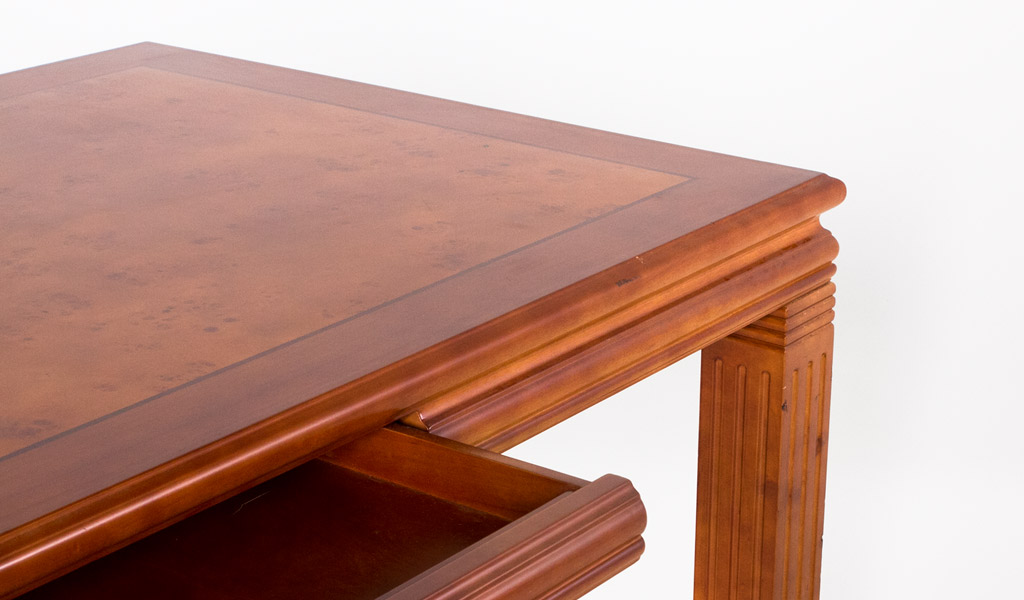 "72""w x 36""d Honey Cherry Table Desk DSK009567"