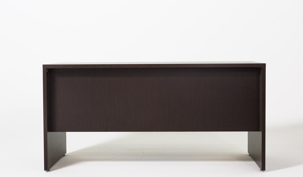 "60.5""w x 30""d Dark Espresso Laminate Desk DSK012975"