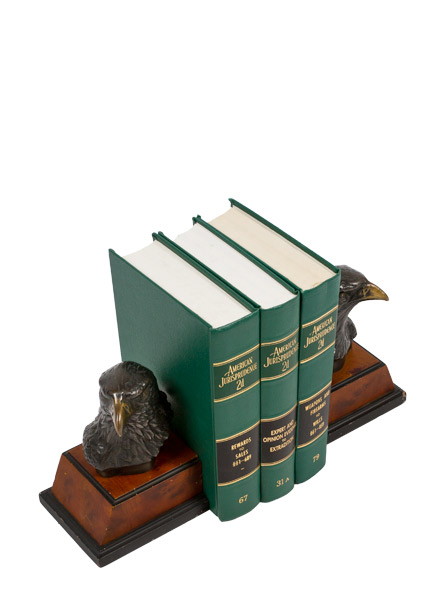 "7.5""h Copper Bookends MIS007015"