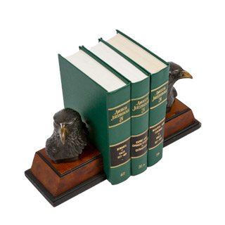 7.5''h Copper Eagle Bookends MIS007015