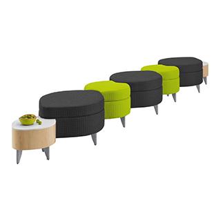 Leaf Modular Bench