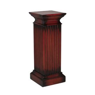 "14""w x 42""h Walnut Standing Column Pedestal PED012771"