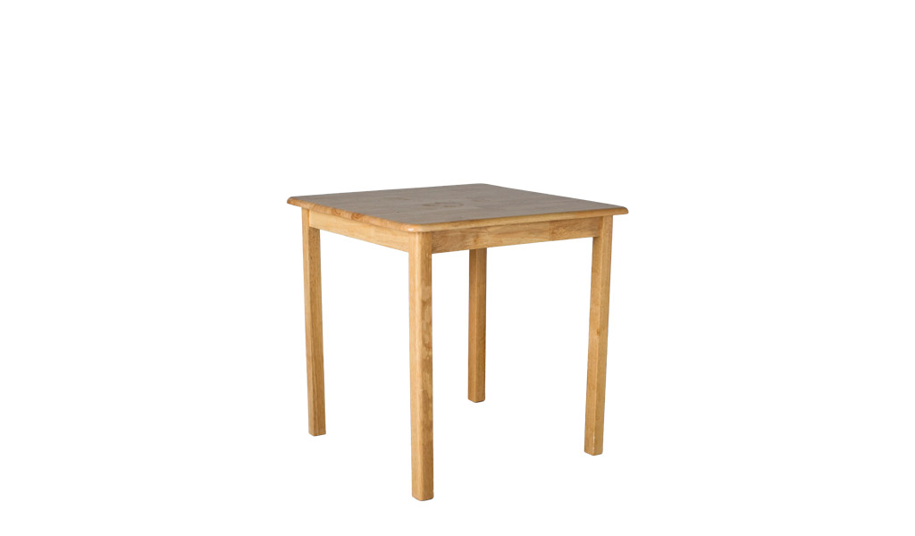 "30""w x 30""d Natural Wood Dining Table TBL009958"