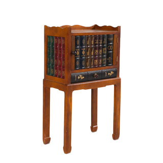 "19""w x 11""d Cherry Side Table TBL010014"