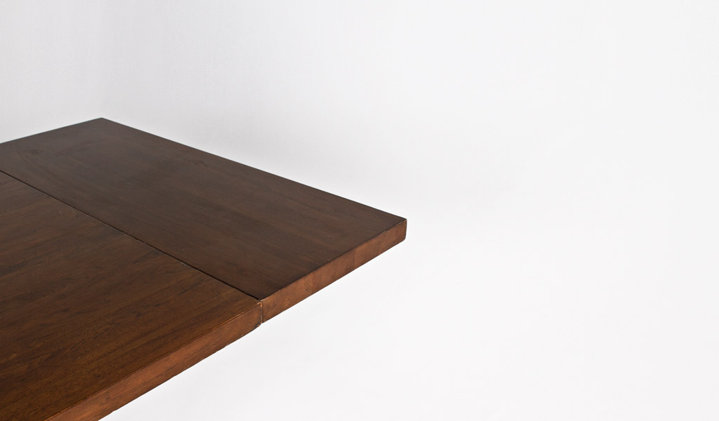 """82""""w - 114""""w x 40""""d Walnut Expandable Dining Table TBL010296"""
