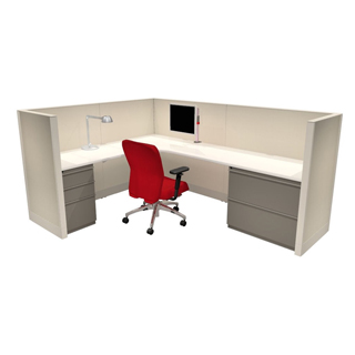 Low Panel Cubicle