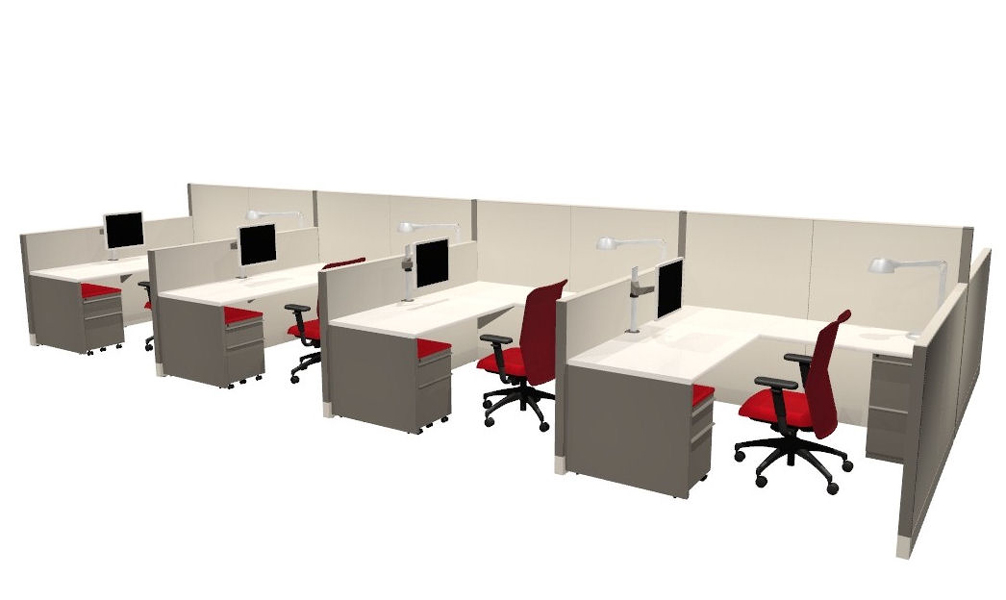 Call Center Cubicle Arenson Office Furnishings