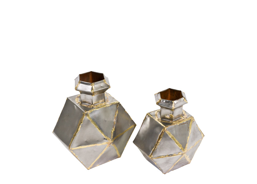 "11""h - 12""h Oil Flask Set"