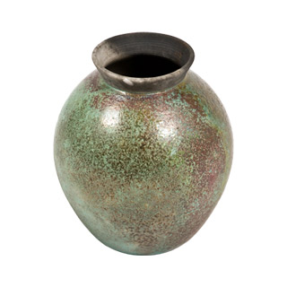 """10""""h Rusted Tine Vase ACC008789"""