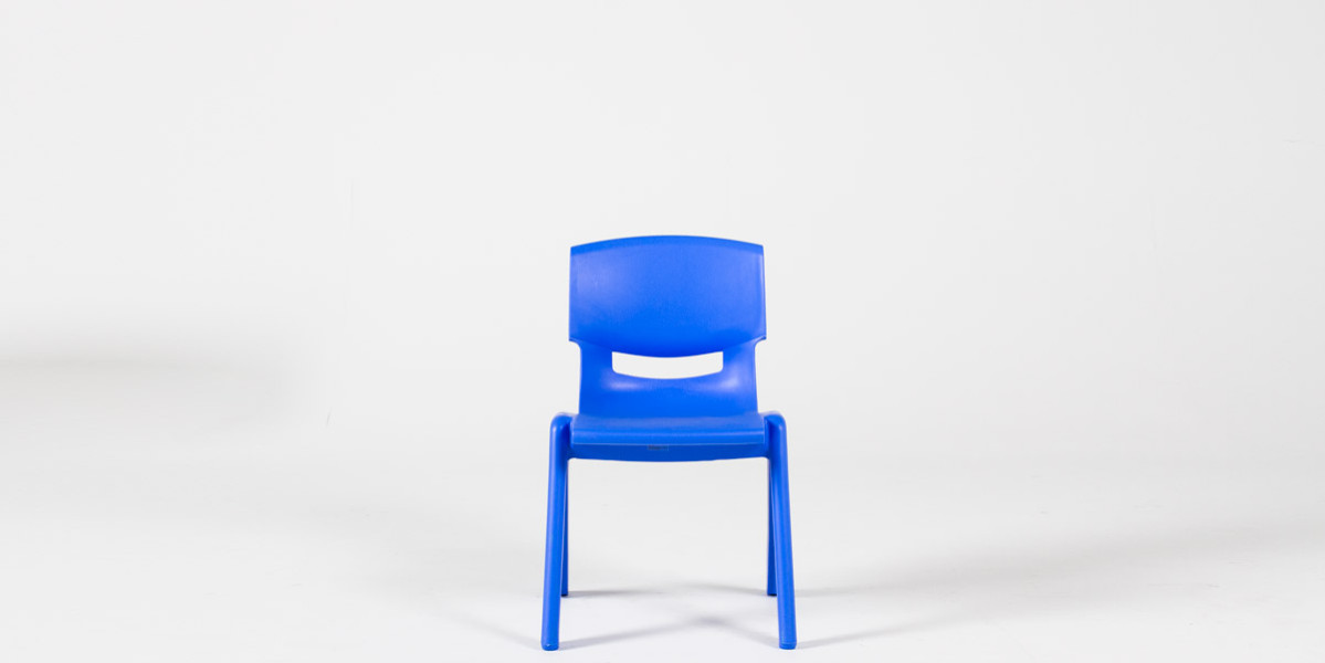 Blue Resin Children's Stack Chair CHR013088