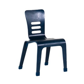 Navy Blue Children's Stack Chair CHR013095