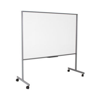 """72""""w x 73.75""""h Clear Acrylic Dry-Erase Board MIS013085"""